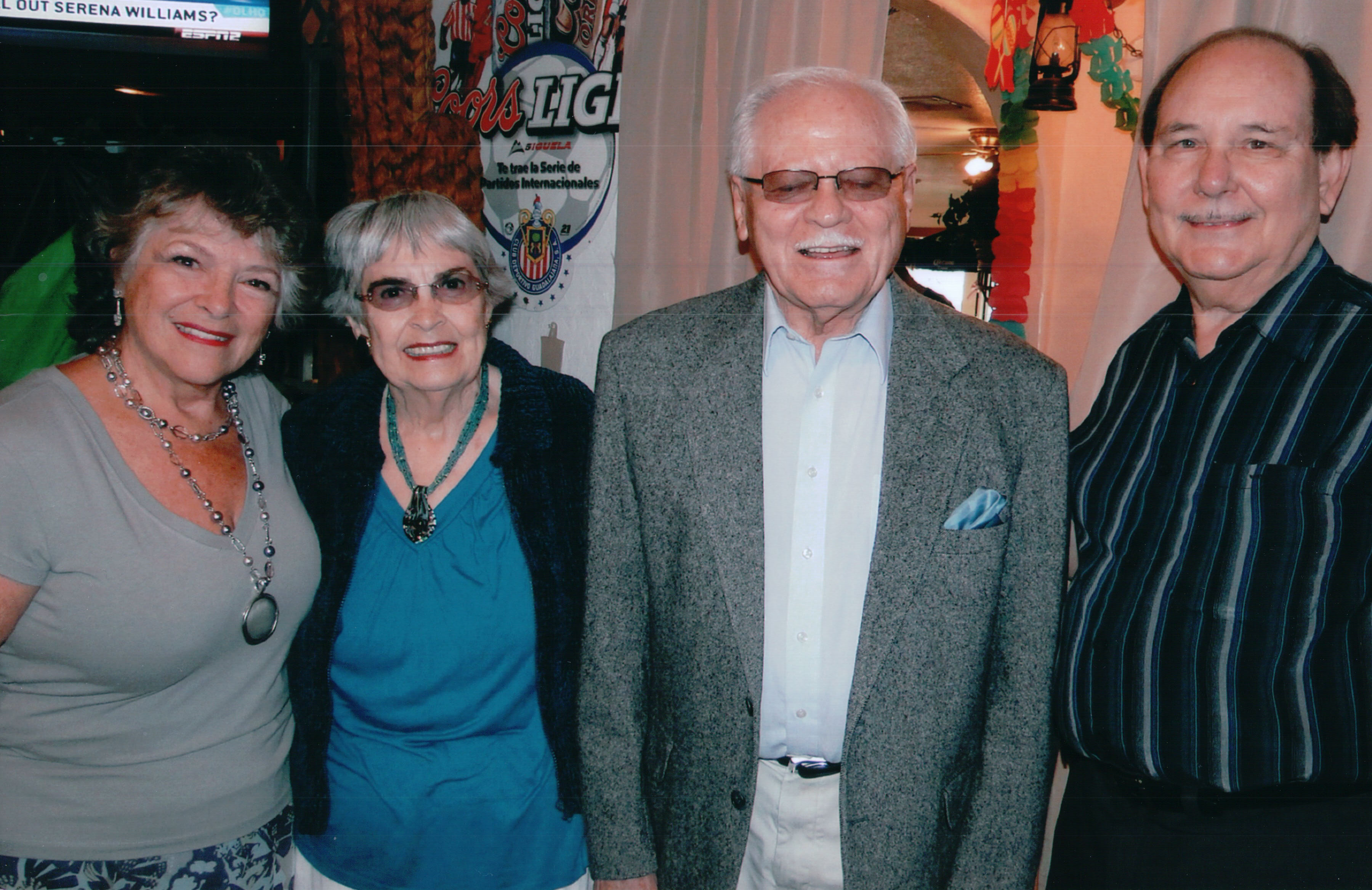 Dorene and Clarence Walth with author Maria and Husband Al